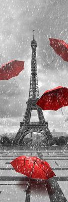 Фотообои Осень в Париже артикул 110340