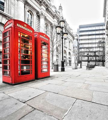 Фотообои Стиль Лондона артикул 140112