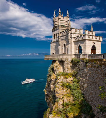 Фотообои Берег Крыма артикул 140122
