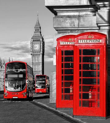 Фотообои На улице Лондона артикул 140359