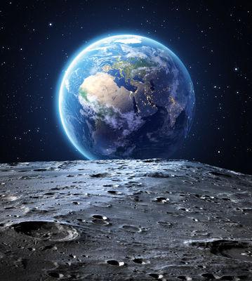 Фотообои Вид с луны артикул 140370