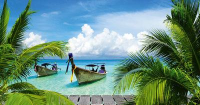 Фотообои Отпуск в Тайланде артикул 230064