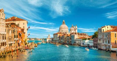 Фотообои Панорама Венеции артикул 230088