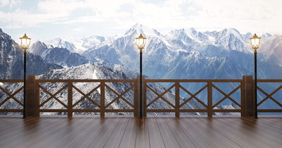 Фотообои Выход в Альпы артикул 230352