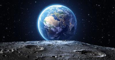 Фотообои Вид с луны артикул 230356