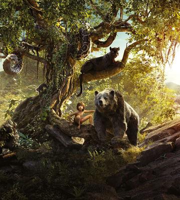 Фотообои Книга джунглей артикул 840138