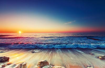 Фотообои Море на закате артикул E230410