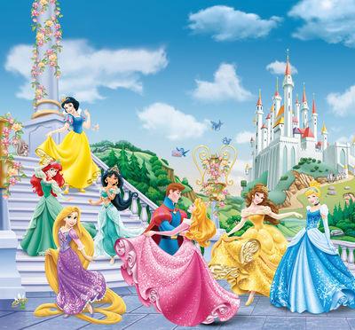 Фотообои Диснеевские принцессы артикул E250465
