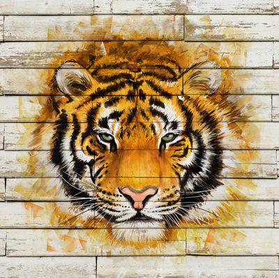 Фотообои Тигр артикул LA200542