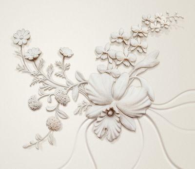 Фотообои Объемные цветы артикул LA250562
