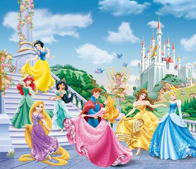 Фотообои Диснеевские принцессы артикул LA250563