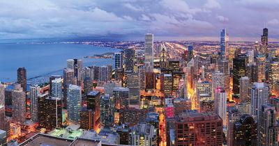 Фотообои Рассвет над Манхэттеном артикул YW230056